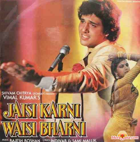 Poster of Jaisi Karni Waisi Bharni (1989) - (Hindi Film)